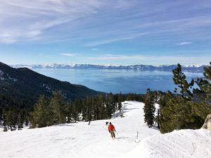 絶景スキー @ Diamond Peak Ski Resort
